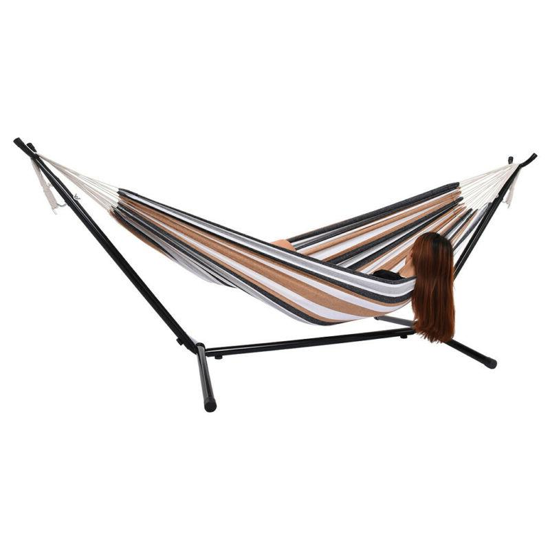 Portable Hammock with for 2 Carrying Use