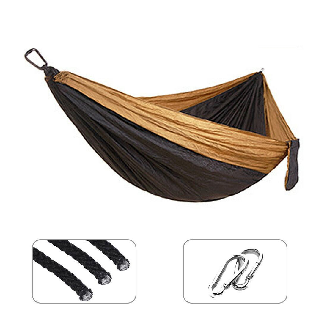 Double Hammock Bed Portable Fabric 2