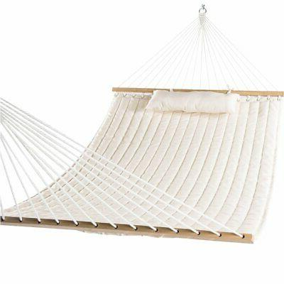 double quilted fabric swing