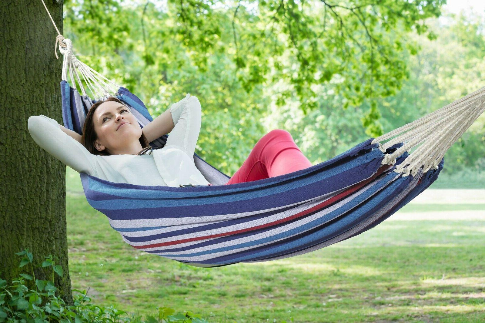 Bliss Extra Strong Hammock in a Fabric portable