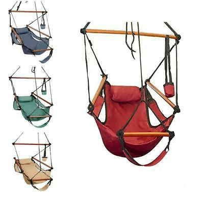 hammock hanging chair air deluxe outdoor chair