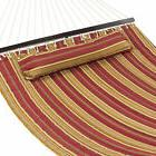 BCP 2-Person Quilted Double Hammock w/ Detachable Pillow, Ca