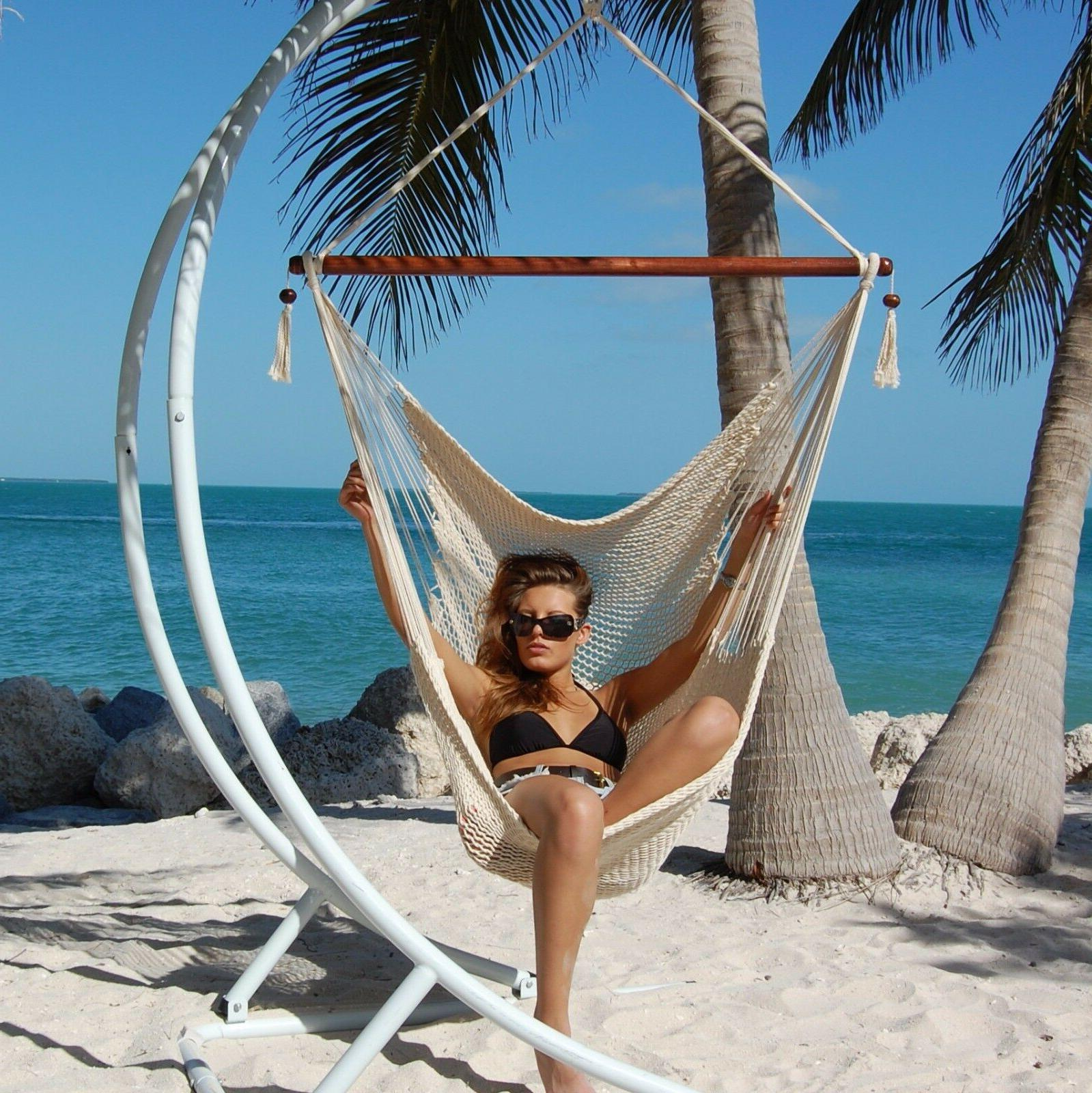 Large Caribbean Hammock 48 Spun Polyester Not Included-