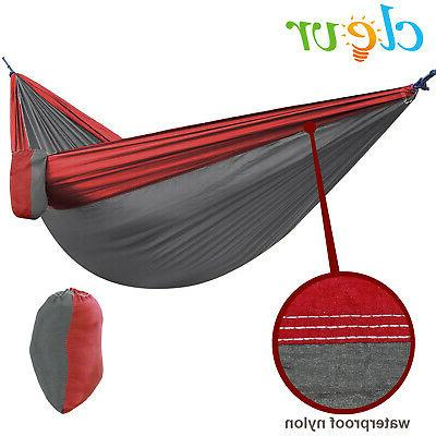NEW Clevr Single Person Portable Hammock Travel Camping
