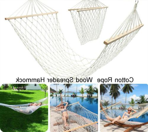outdoor swing hanging camping cotton bed patio
