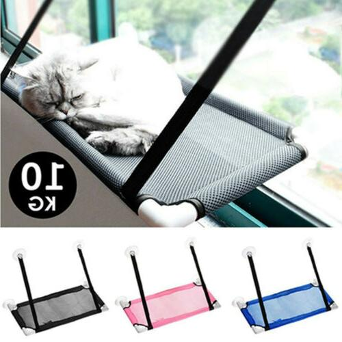 pet cat window mounted durable soft seat