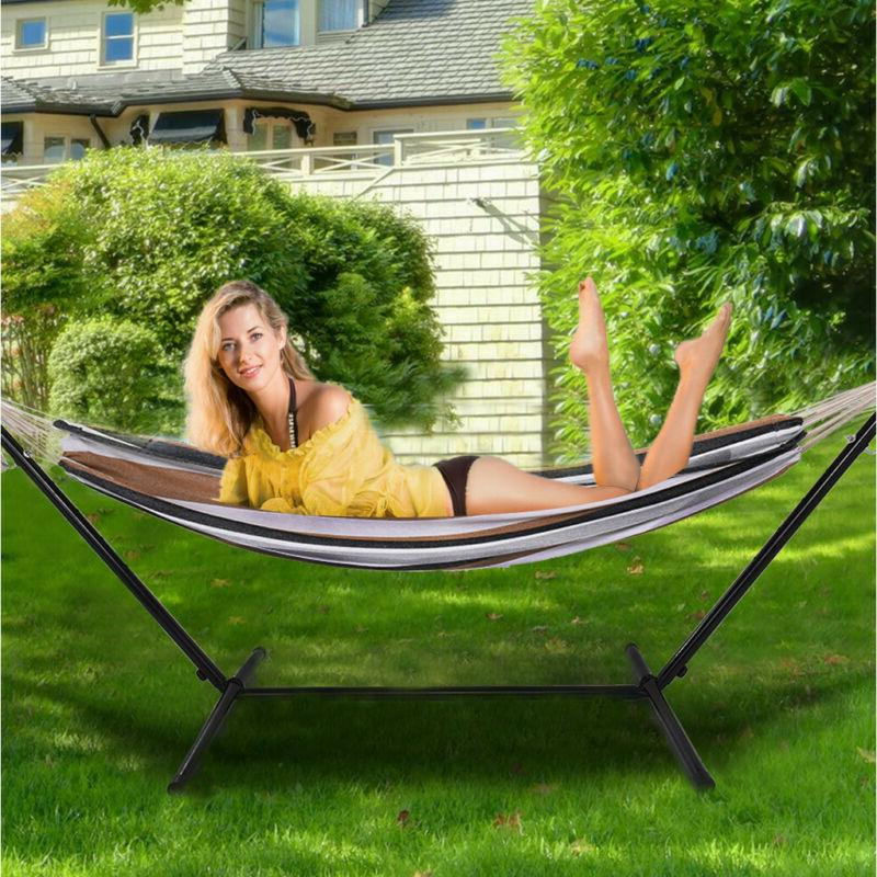 Portable Hammock for 2 Carrying Use