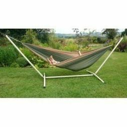 LA SIESTA Neptuno Sand - Powder-Coated Steel Stand for Doubl