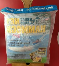 Algoma Net Hammock Great Lakes New Old Stock New Sealed  Mad
