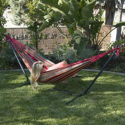 new 10ft double hammock stand patio outdoor