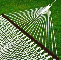 new cotton double hammock w accessories freeshipping
