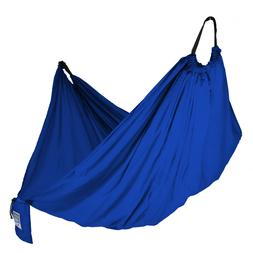 NEW Equip ONE PERSON Blue Backpacking Hammock 400 lb. Capaci