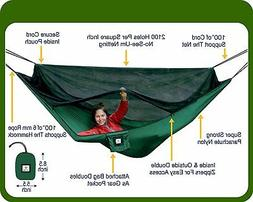 Hammock Bliss No-See-Um No More ~ The Ultimate Bug Free Camp