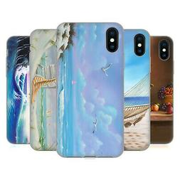OFFICIAL GENO PEOPLES ART HOLIDAY GEL CASE FOR APPLE iPHONE