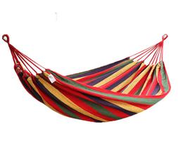 Outdoor Double Swing Tree Hanging Hammock For Garden Camping