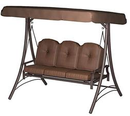 Patio Swing With Canopy Stand Yard Porch Outdoor Adults Furn