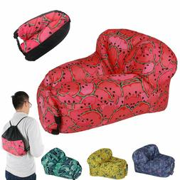 Portable Inflatable Lounger Air Sofa, Chair, Hammock, Couch