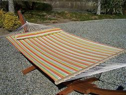 Petra Leisure Quilted Spring Color, TWO Person Hammock Bed.