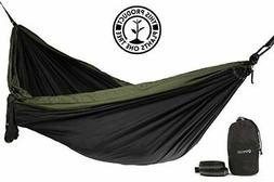 Rincon Camping Hammock with Tree Straps, Indoor Outdoor, Tra