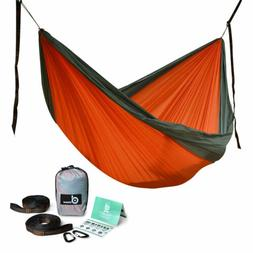 Odoland Single/Double Camping Hammock- Lightweight Portable