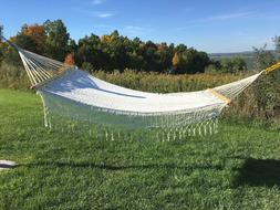 King Sized Hand-tied Pure Cotton Hammock