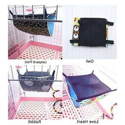Small Animal Pet Hammock Cage Hanging Bed For Rat Hamster Fe
