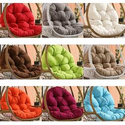 Soft Cotton Seat Cushion Pad Mat Backrest For Outdoor Swing