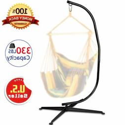 Heavy Duty Hammock C Solid Frame Stand For Outdoor Hanging A