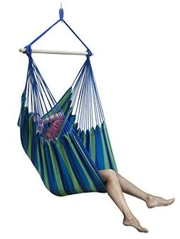 Sorbus Brazilian Hammock Chair Swing Seat for Any Indoor or