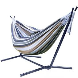 Sorbus Double Hammock With Steel Stand Two Person Hammock Be