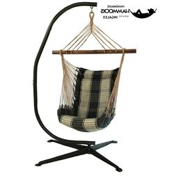 SWING chair Hammock Swing with stand new folding & padded ma