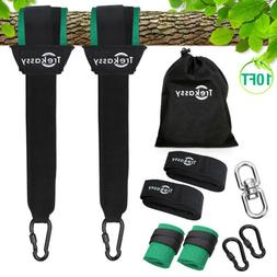 Tree Swing Straps Hanging 2 Straps Rope for Tree Swings and