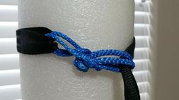 UHMWPE Hammock tree straps 15 foot set with soft shackles