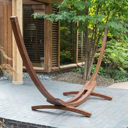 Wooden Hammock Stand Arc Design For Spreader Bar Hammocks St
